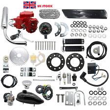 80cc Engine Motor Kit 2-Stroke for Motorized Bicycle Bike DIY + Speedometer UK/