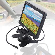 12V 7'' TFT LCD Pantalla Color Monitor Para CCTV Cámara de Marcha Atrás Coche