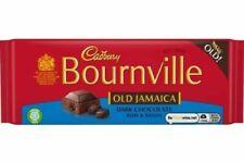 🍫 Cadbury Bournville vieux Jamaïque 1 x 100 g bar rhum & Raisin Végétarien Dark...