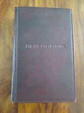 Vintage THE  METHODIST HYMN BOOK with TUNES, For the use of Choirs, 1943 approx