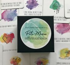 Self-care cards, Positive Affirmations, Self-care for women