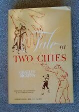 A Tale of Two Cities by Charles Dickens 1940s HC/DJ Literary Classics Book Club