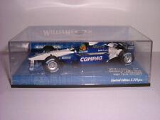 VINTAGE MINICHAMPS WILLIAMS BMW FW23 DISTANCE RALPH SCHUMACHER FORMULA ONE CAR