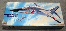 Hasegawa JASDF Mitsubishi T-2 1/72 Model Kit NIB Sealed bag
