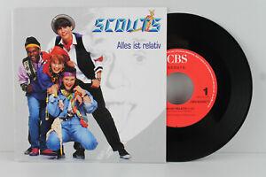 "7"" Single - SCOUTS - Alles ist relativ - Freiheit - CBS 1989 NL"