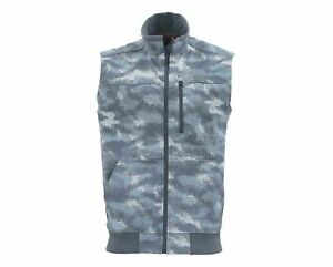 NEW Simms - Rogue Fleece Vest - Hex Camo Storm