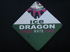 ICE DRAGON STRONG WHITE CIDER COASTER
