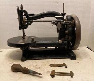 Early Patd 1872 Chas. Raymond Cast Iron Sewing Machine