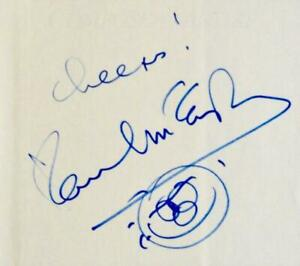 PAUL MCCARTNEY SKETCH/DRAWING HAND SIGNED BOOK ONE OF A KIND THE BEATLES ACOA
