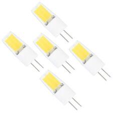 5X LED G4 Leuchtmittel 3W, AC DC 12V, Kaltweiss 6000K, Ersatz für 20W Halogen