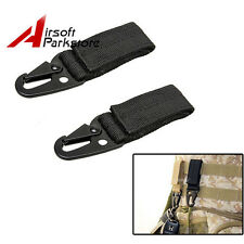 2pcs Quick Release QD Buckle Metal Hook for Tactical Molle Vest 5.11 Blackhawk
