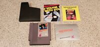 Metroid Nintendo NES Video Game w/ Instruction Manual Book Poster Insert Lot !!!