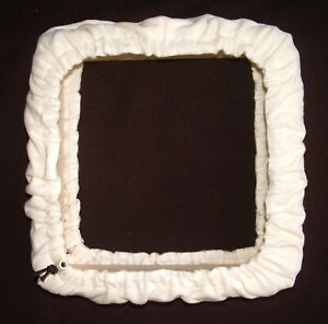 Punch Needle Rug Hooking Gripper Frame with Cozy Cover