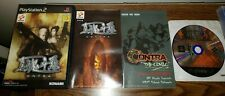 Shin Contra PS2 COMPLETE CIB Sony PlayStation 2 US SELLER Japan Import Tested