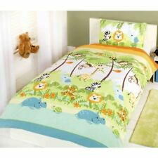 Linge de lit et ensembles vert à motif Pour enfant pour chambre à coucher