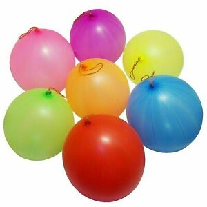 Large Punch Ball Balloons with Elastic Party Bag Fillers Pinata SP 50 Kids Toys