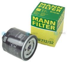 Original MANN FILTER W712/52 ÖLFILTER für VW POLO (6R1, 6C1) - 1.4