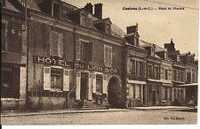 (S-24201) FRANCE - 41 - CONTRES CPA VUE DE L HOTEL DU LION D OR     MOULIN Vve e