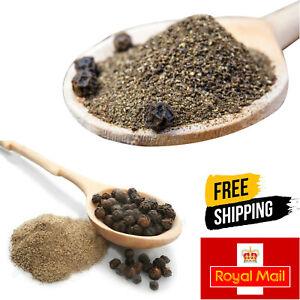 Organic Black Pepper Freshly Coarse Ground *Premium Quality* Free UK P&P 50g-2Kg