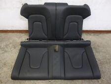 AUDI a5 8f Cabrio Pelle Sedile Posteriore Panca Sedile Posteriore Nero Black Leather s5 rs5