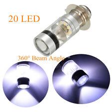 P15D P15D-25-1 H6M 20 LED 100W Car Motorcycle DRL Reverse Light Bulb Hi/low Lamp