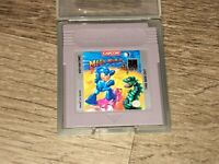 Mega Man III 3 Nintendo Game Boy w/Case Cleaned & Tested Authentic
