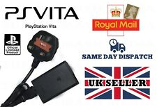OFFICIAL GENUINE SONY PS VITA CHARGER AC POWER ADAPTER UK 3 PIN PLUG PCH-ZAC1