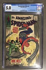 Amazing Spider-Man #53 1967 CGC 5.0 Peter Parker and Gwen Stacy's first date!