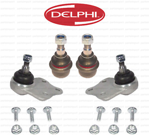Front Ball Joint Kit Lower & Upper Control Arm Joints L+R DELPHI for Mercedes