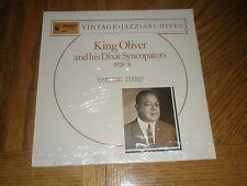 KING OLIVER AND HIS DIXIE SYNCOPATORS / VOLUME THREE 1928-31 ~ NEW MINT & SEALED