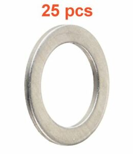 (25) Marli 18mm Aluminum Oil Drain Plug Gaskets M18 RPL 90471-PX4-00 Fits Honda