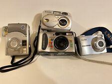 For Parts Or Repair Digital Cameras Lot kodak sony fujifilm Hp