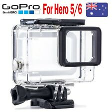 Black Camera Accessories 45m Diving Waterproof Housing Case GoPro Hero 6 5