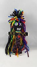 Authentic Voodoo doll real Rainbow stitch 7 pins guide karma new orleans hoodoo