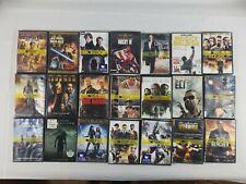 Lot of 20 DVDs Wholesale (DVD-39) Action Jack Reacher Rocky Apocalypto Iron Man+