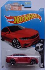 2016 Hot Wheels BMW SERIES 4/5 BMW M4 189/250 (Red Version)