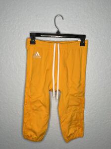 Adidas Techfit Primeknit Football Pants Yellow M99627 Men's Sz M NEW