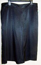 NWT Robert Rodriguez black Culotte with pockets, size 16 MSRP $89