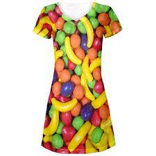 Fruta de Halloween Candy Juniors Escote en V vestido de playa encubrimiento