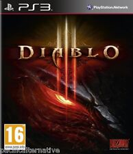 jeu DIABLO III pour Playstation 3 PS3 francais game spiel juego gioco NEUF / NEW