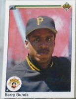 1990 Upper Deck Baseball Barry Bonds Card #227, New