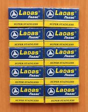 50 NEW LADAS RAPIRA DOUBLE EDGE SAFETY RAZOR BLADES