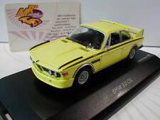 """Schuco 02190 # BMW 3.0 CSL Coupe (E9) Baujahr 1971 in """" gelb """" 1:43 NEU"""