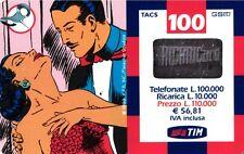 SCHEDA RICARICA USATA TIM NARDA 100 MAG.2002 18M OCR 16 CAB 26