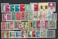 WEST GERMANY 1955-2000 STRONG ALL COMPLETE MNH collection incl. all Sheets