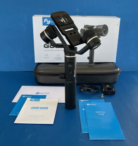 FEIYUTECH G6 Plus 3-Axis Stabilized Handheld Gimbal for Camera & Phone. In Box