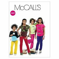 McCall's Patterns M6390 Children's/Girls' Tops and Pants, Size CCE (3-4-5-6)