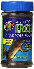 Zoo Med Aquatic Frog & Tadpole Food 2 oz