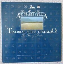 PETER MAXWELL DAVIES - Ave Maris Stella / Tenebrae Super Gesualdo - LP Record