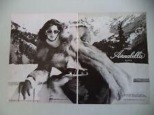 advertising Pubblicità 1976 PELLICCERIA ANNABELLA - PAVIA